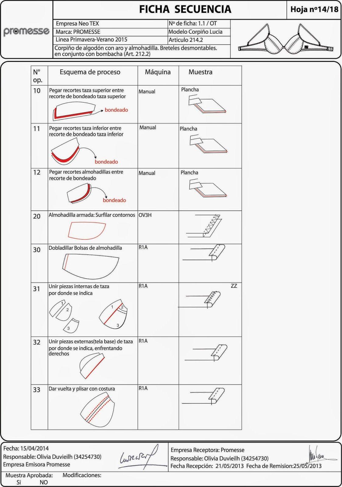 FICHA DETALLE CONSTRUCTIVO | Technical Design - FICHAS TÉCNICAS ...
