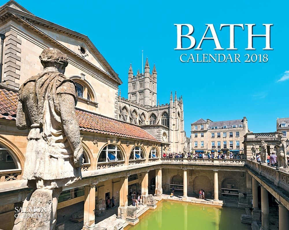 Bath 2018 Office or Home Wall Calendar-Salmon Calendars Year Planner ...