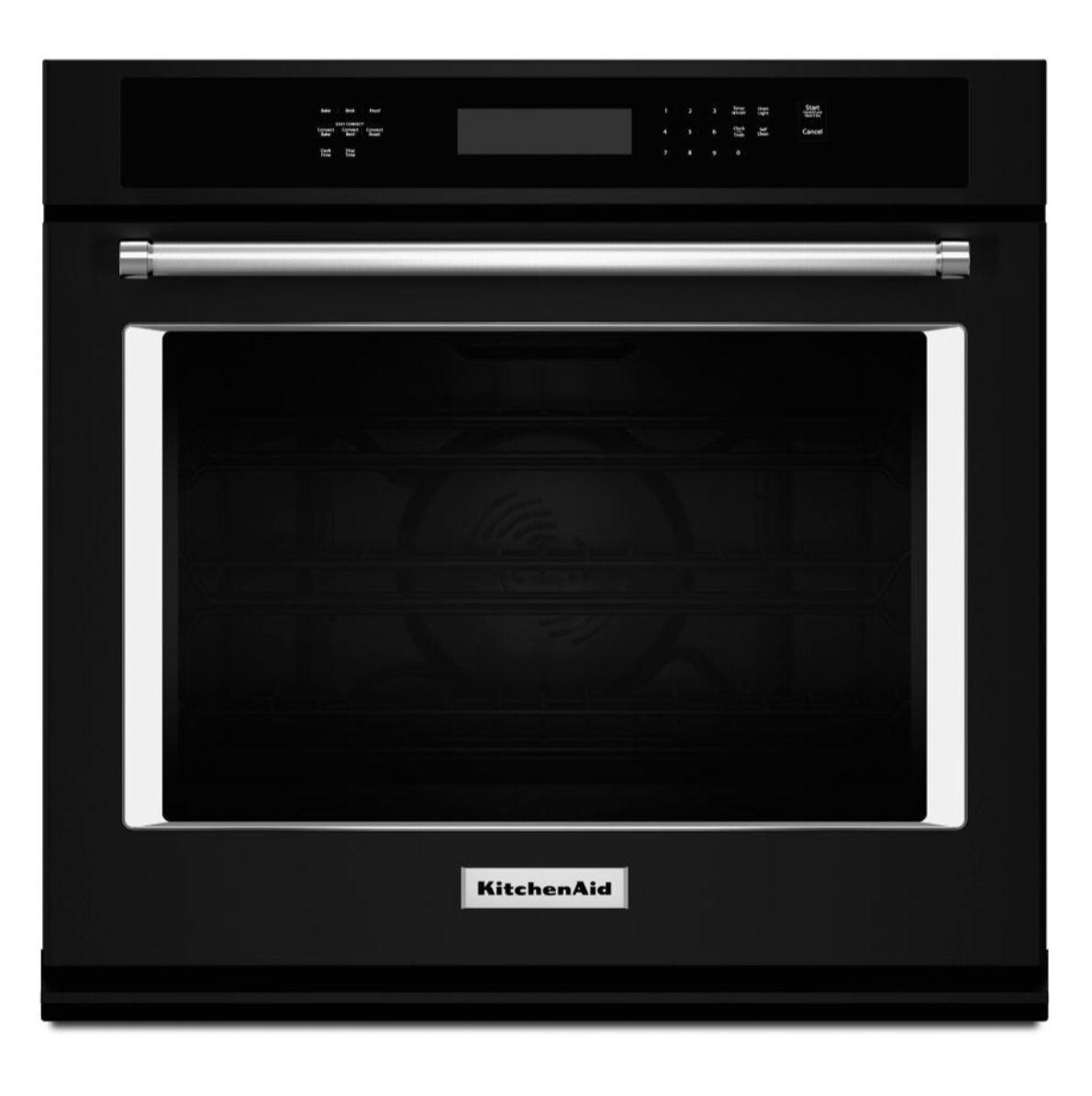 Kitchenaid 30 single wall oven with evenheat true