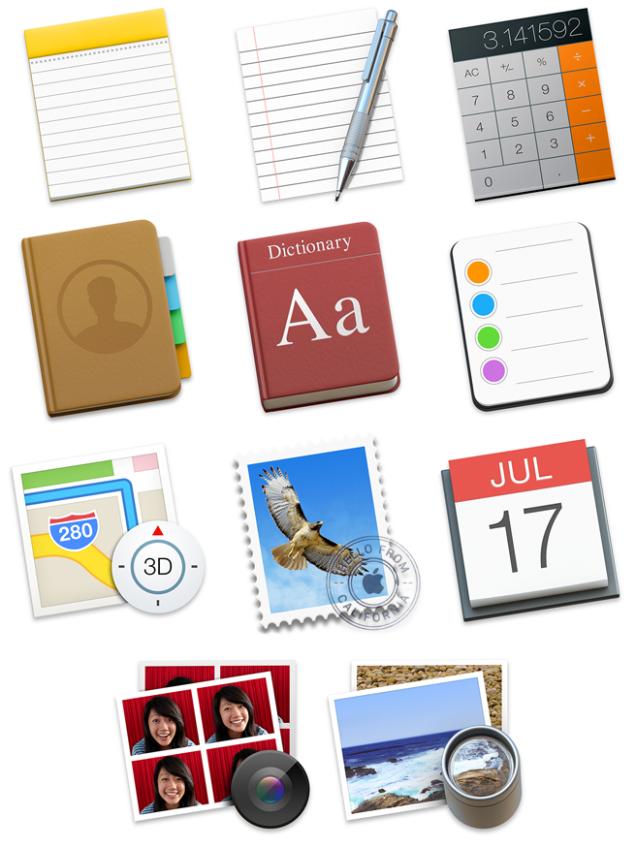 Inspecting Yosemite's Icons Icon design, Visual