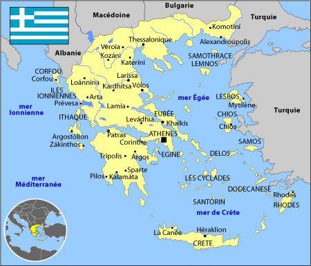 grece carte