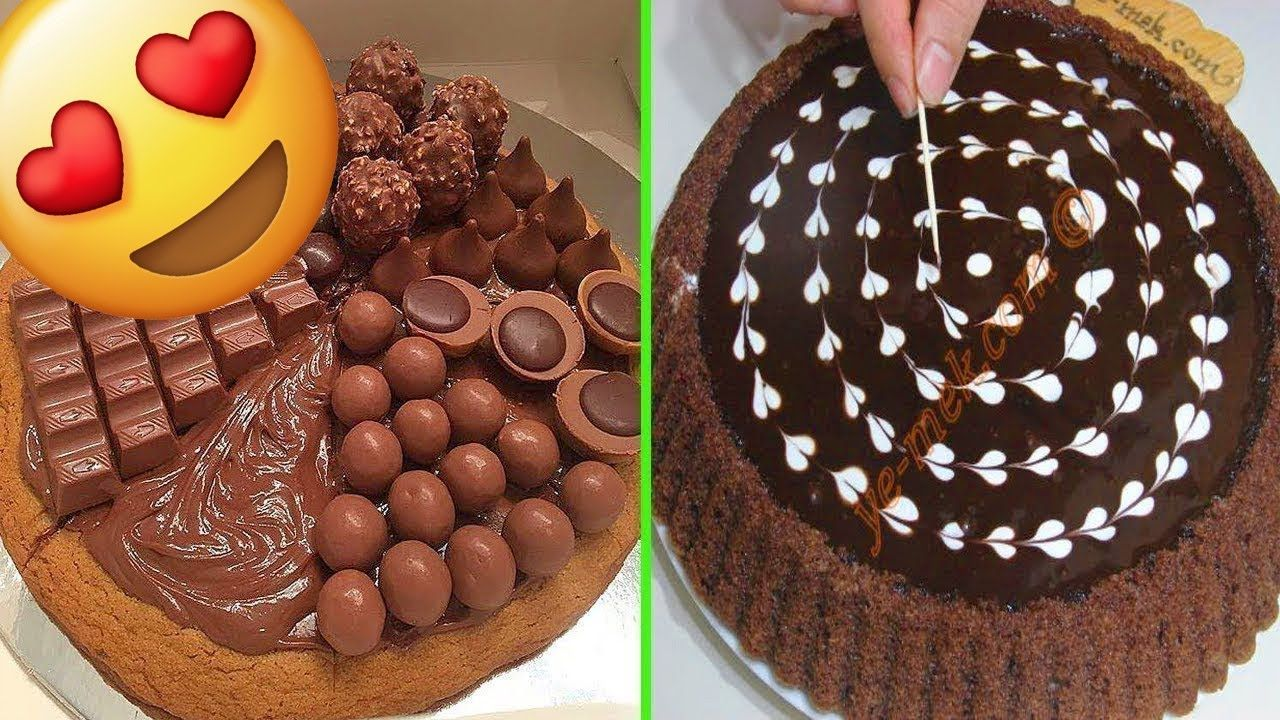 Idee Per Decorare Una Torta idee per decorare una torta al cioccolato e non solo