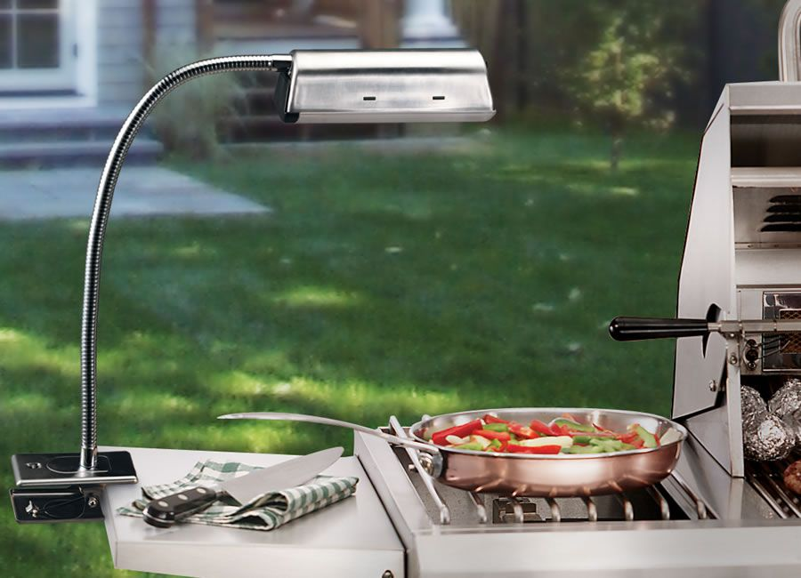 Stainless Steel Grill Light Cordless To Make Grilling At