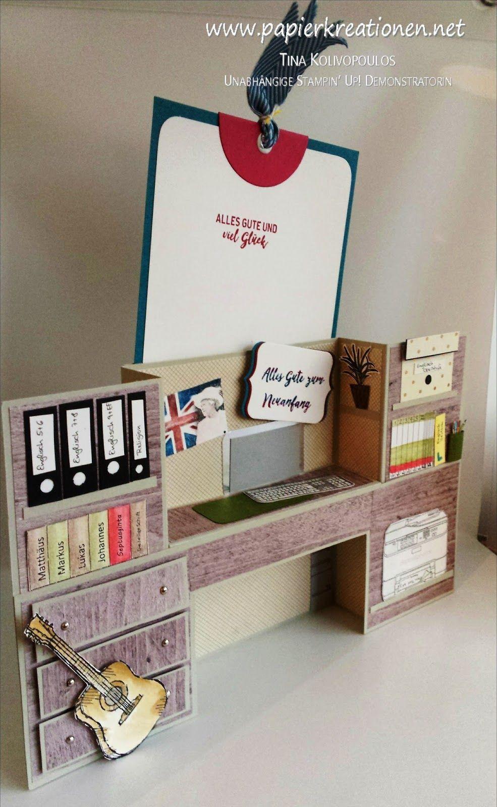 Bench Fold Card Fur Die Verabschiedung Eines Lehrers Teachersdaycard Bench Fold Card Fur Die Verabschiedung Eines L Folded Cards Bridge Card Interactive Cards
