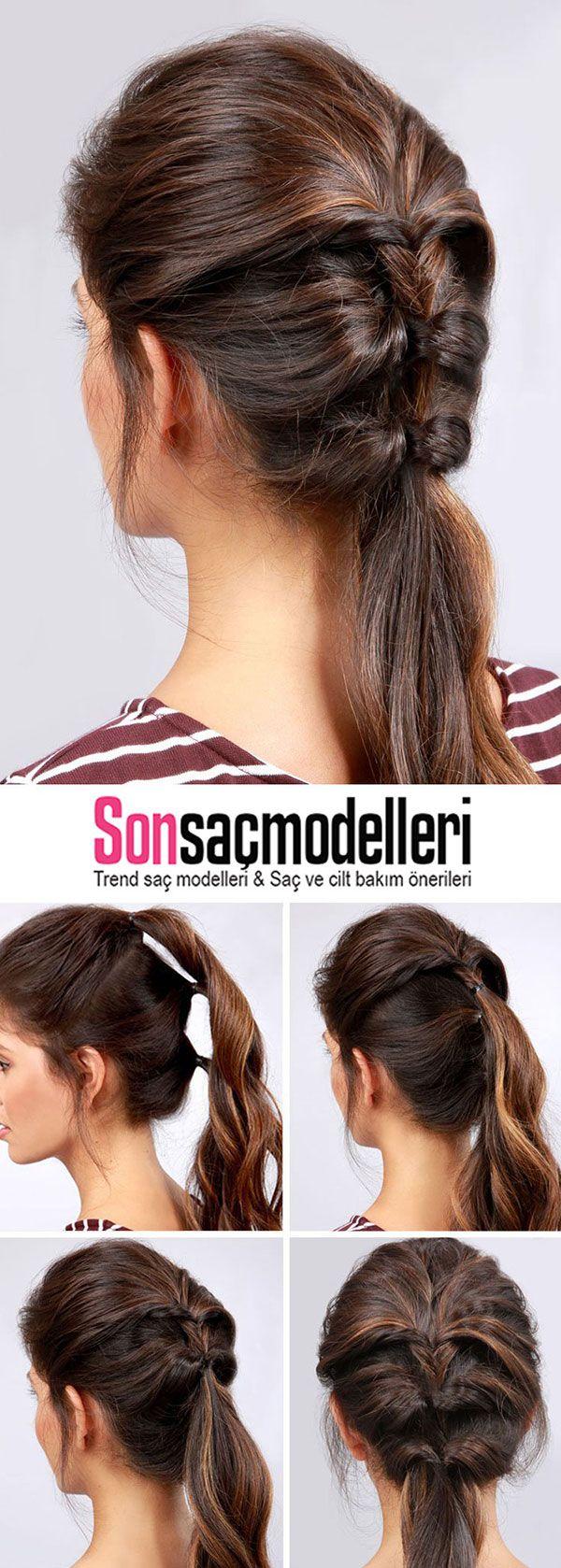 Adım Adım Yapılışlarıyla Birlikte Muhteşem 10 Saç Modeli #saçgüzelliği