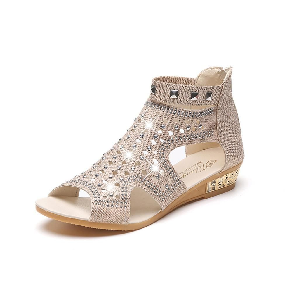 Spring Summer Ladies Wedge Sandales | | Products | Pinterest | Sandales Products 7abcd4