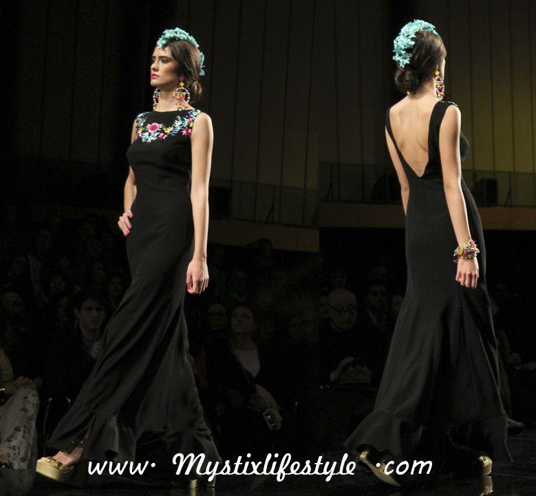 Desfile de Lina en el Salón Internacional de la Moda flamenca, SIMOF 2014