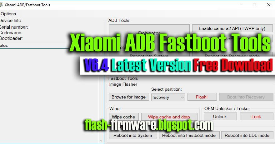 DownloadXiaomi ADB Fastboot Tools Feature: Updated module