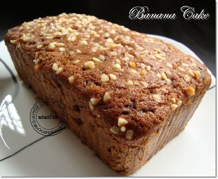 Banana Cake Change Ovalette To Condensed Milk Banana Cake Banana Sweet Treats