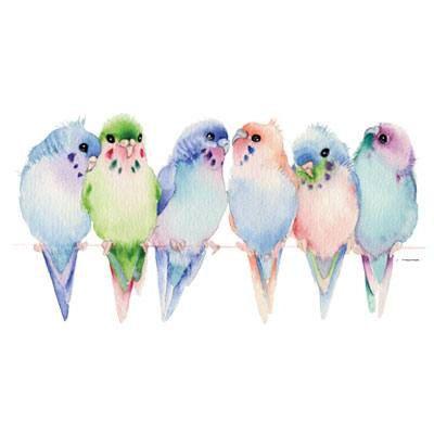 Ob Papageien, Eulen oder kleine Spatzen - Vogelmotive sind im Trend.