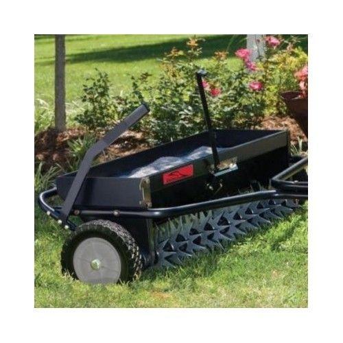Lawn Aerator Spreader Fertilizer Seeder