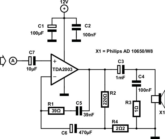 subwoofer amplifier circuit | Subwoofer amplifier ...