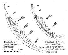 viking ship construction | Viking Ship plans | boat design ...