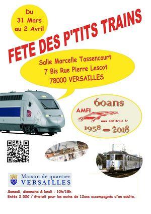 Fête des P\u0027tits Trains @ Verssailles - VERSAILLES, 78000