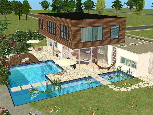 Sims 4 Houses Maison Sims 3 Maison Sims Sims 4 Maison