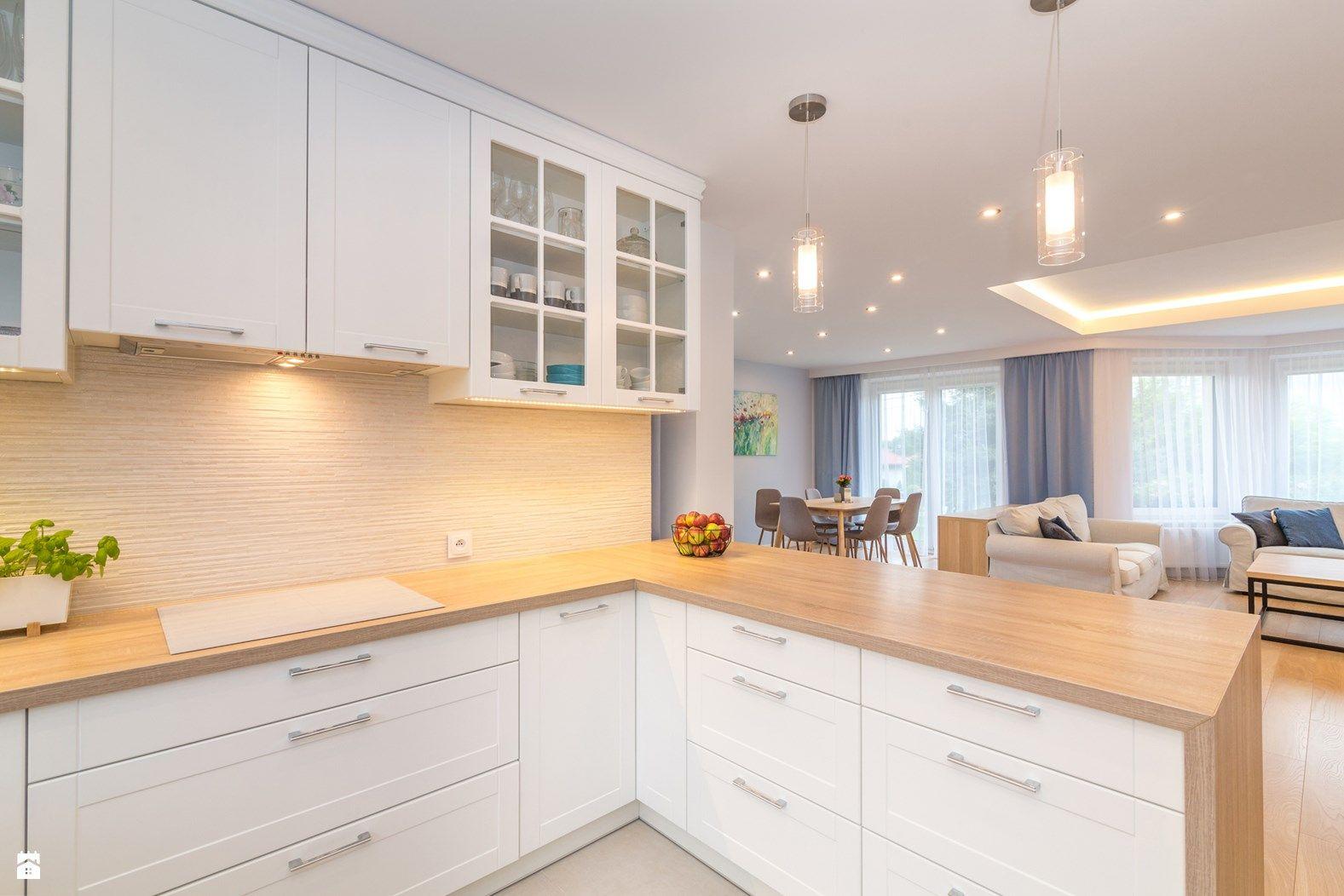 Wystroj Wnetrz Mala Kuchnia W Aneksie Pomysly Na Aranzacje Projekty Ktore Stanowia Prawdziwe Inspiracj Kitchen Cabinet Design Kitchen Cabinets Home Decor