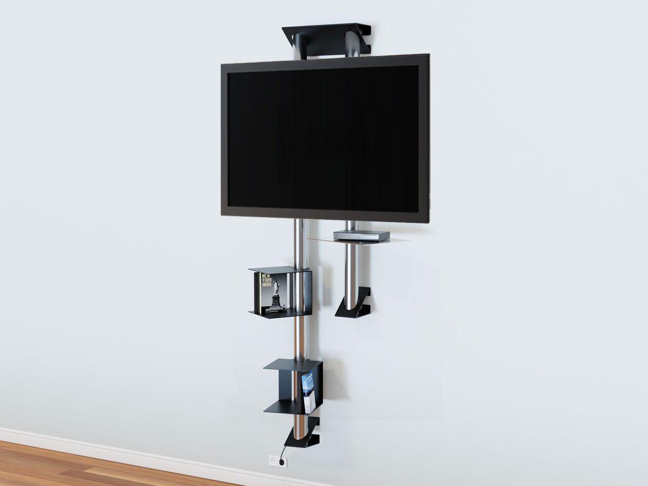 Design Tv Wandhalter Mit Ablage Cmb 277 Wandhalter Ablage Design