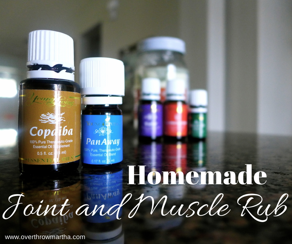 Homemade PanAway Joint and Muscle Rub- cure aches and pains completely naturally