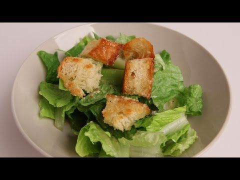 Homemade Caesar Salad Recipe - Laura Vitale - Laura in the Kitchen Episode 336