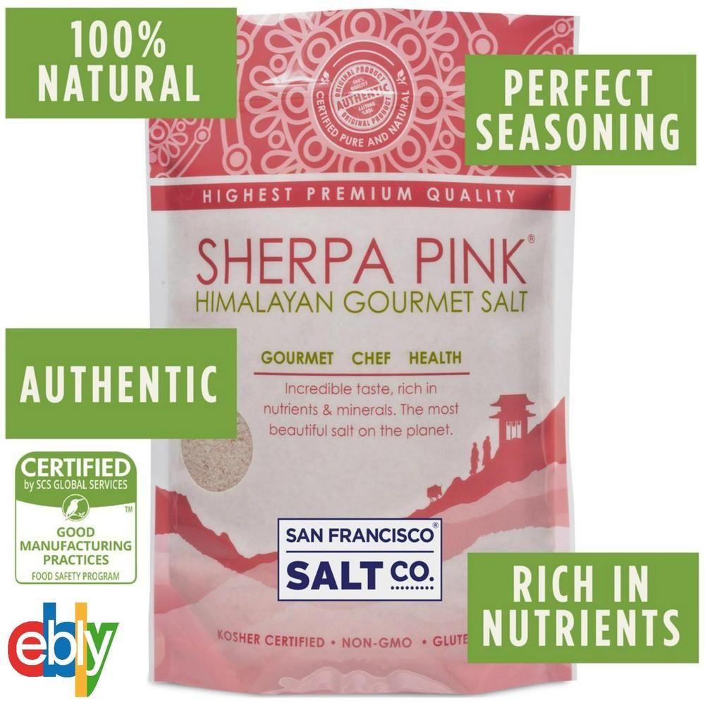 2 lbs Natural Organic Himalayan Crystal Pink Salt (Fine Grain) Ancient Sea Salt #Unbranded
