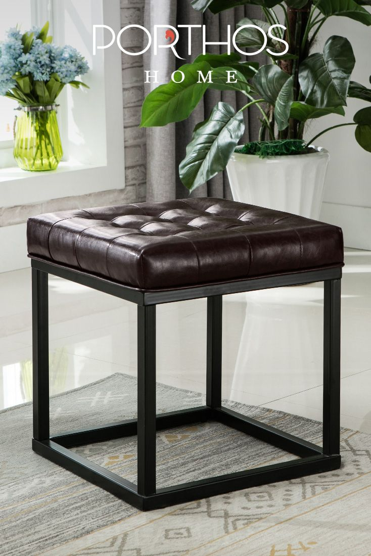 Charming Porthos Home Combines Modern Design And Functionality To Create The Eye  Catching Pearle Square Ottoman Pictures Gallery