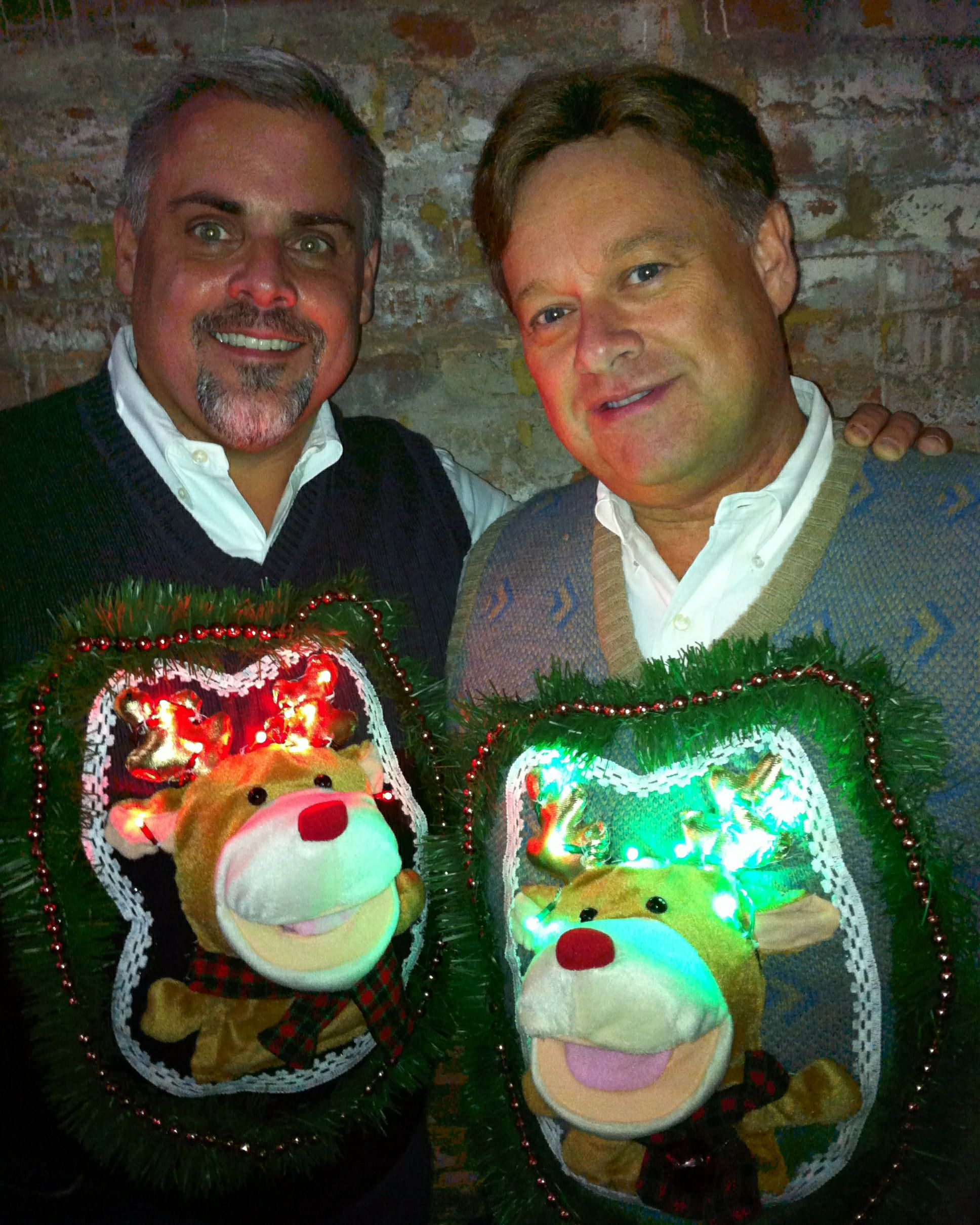 Christmas Jumper Party: The Tackier The Better: 10 Ugly/Great Christmas Sweaters