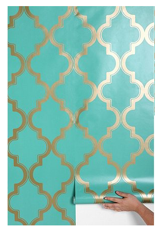Love this wallpaper--obsessed!