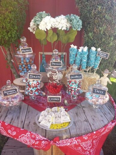 Western Themed Candy Bar Party Ideas Family Reunion