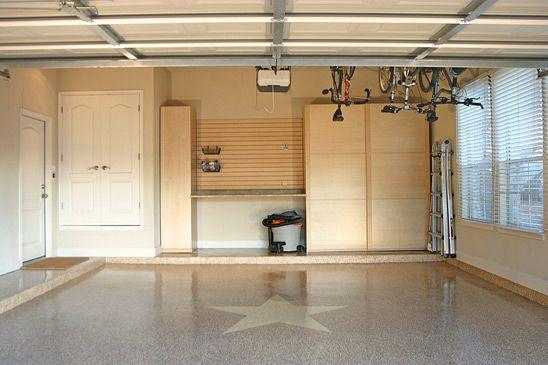 Epoxy Floors, Overhead Garage Storage Racks | Las Vegas San Diego