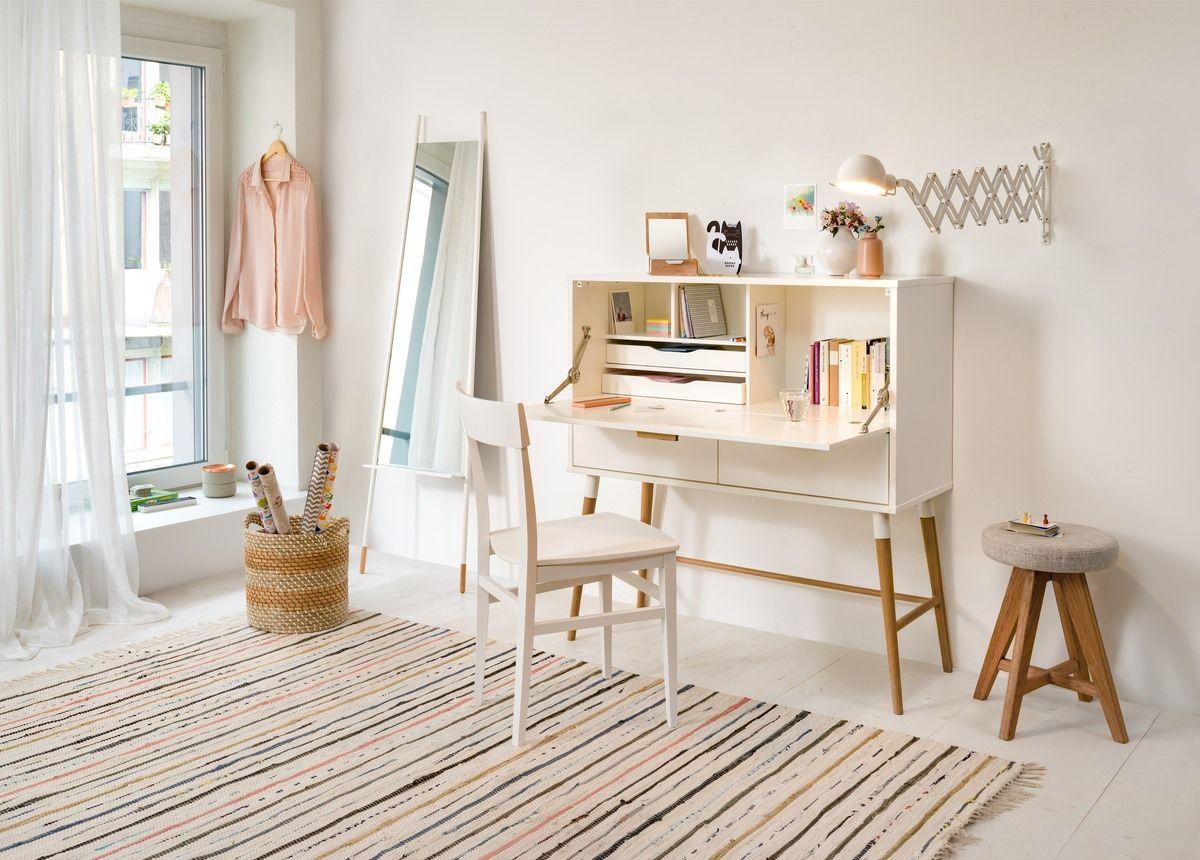 Design Arbeitszimmer ~ Micasa arbeitszimmer mit sekretär johnson und wandleuchte barbara