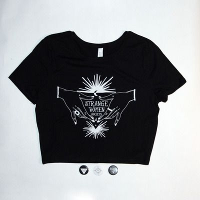 Strange Women Society Secret Society Crop Top | Wishful