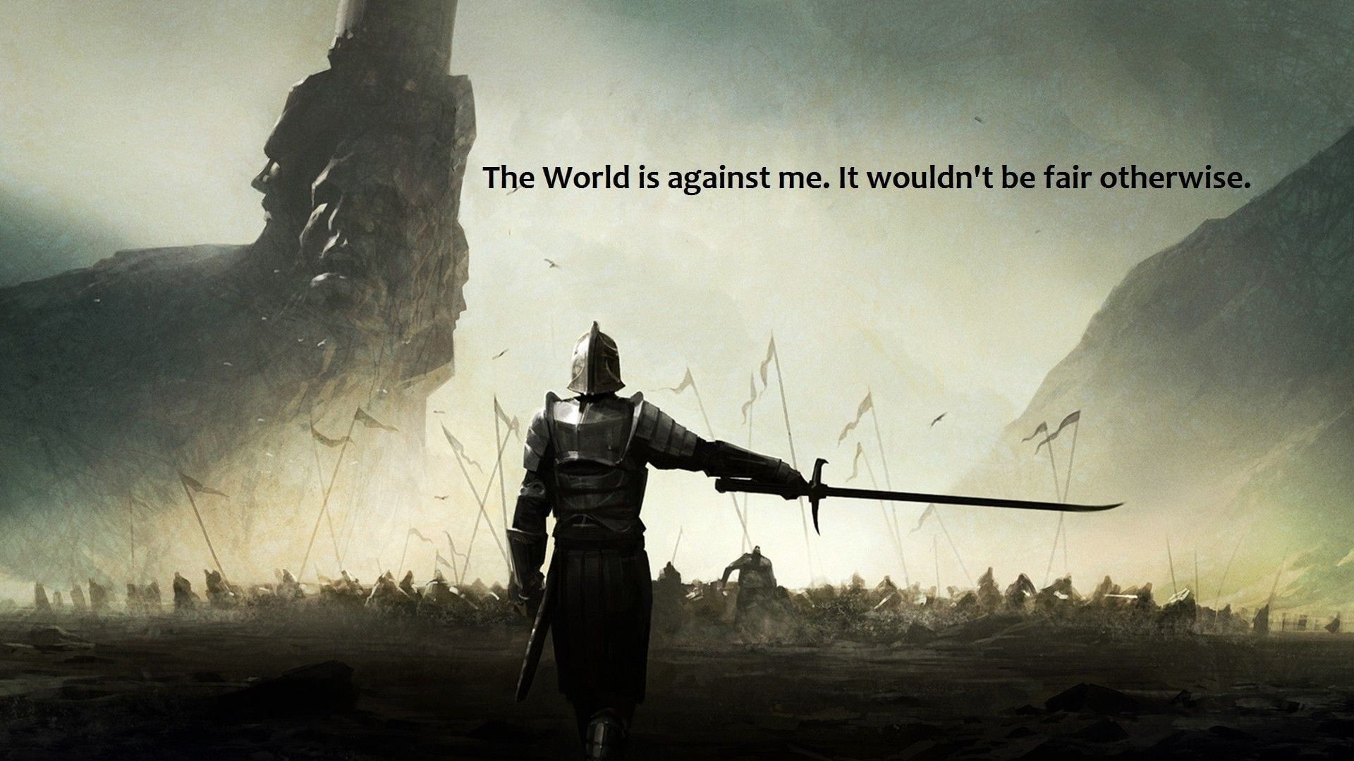 Quote Wallpaper Wallpaper Knight Holding Sword With Text Aestheticvintageroom Aesthe Digital Wallpaper History Wallpaper Hd Wallpapers For Mobile