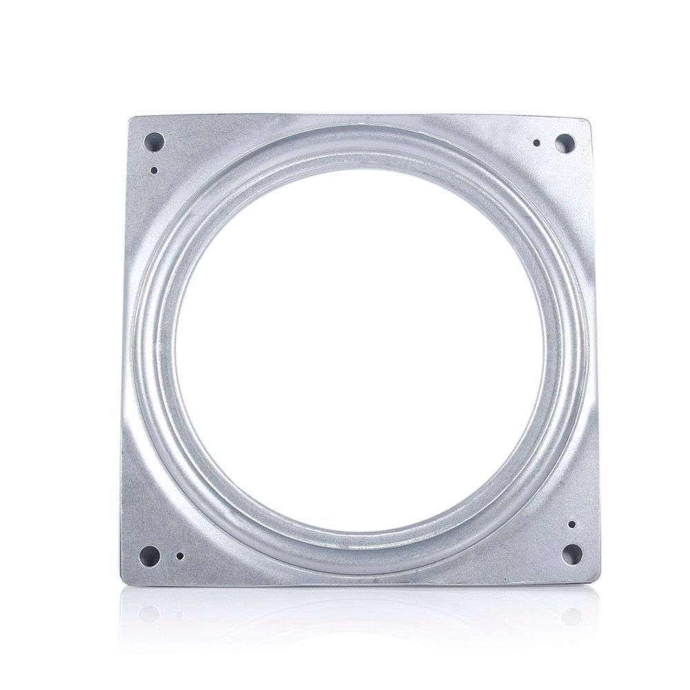 "Lazy Susan Parts Extraordinary 6"" Square Rotating Swivel Plate Metal Lazy Susan Bearing Turntable Design Inspiration"