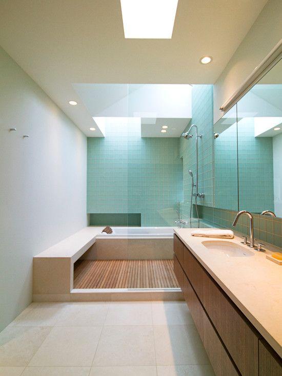 Bathroom Skylights  Two  Kids Bath  Pinterest  Skylight Bath Interesting Bathroom Design Seattle Design Inspiration