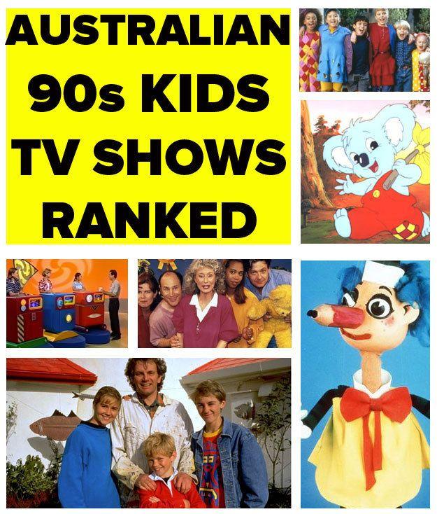 The Definitive Ranking Of 90s Aussie Kids Tv Shows Kids Tv