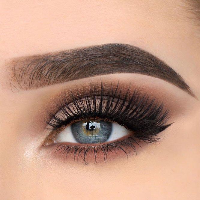 21 un maquillage magnifique pour les yeux bleus #eyemakeup
