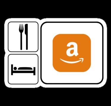 Food Sleep Amazon by Pixelchicken