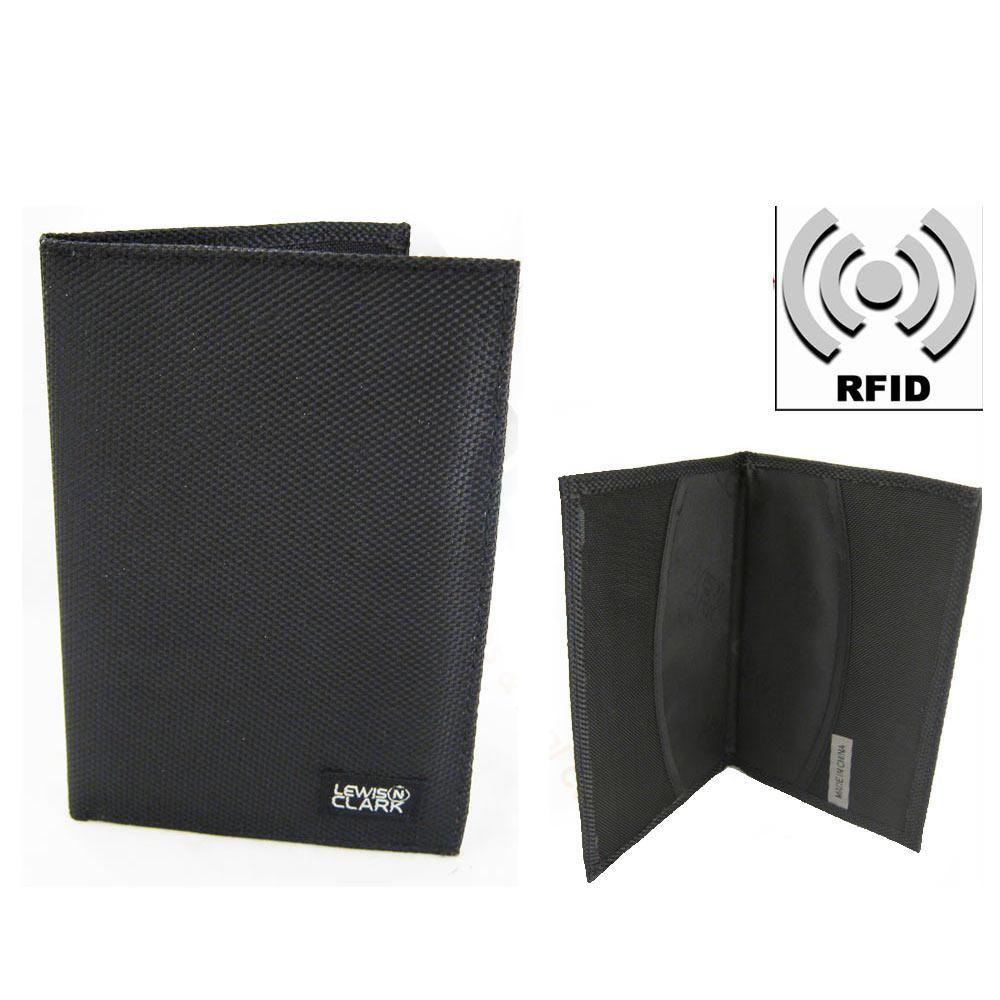 2e823c832dd RFID Blocking Passport Holder Cover Fabric Card Cash Case Travel Safe ID  Wallet