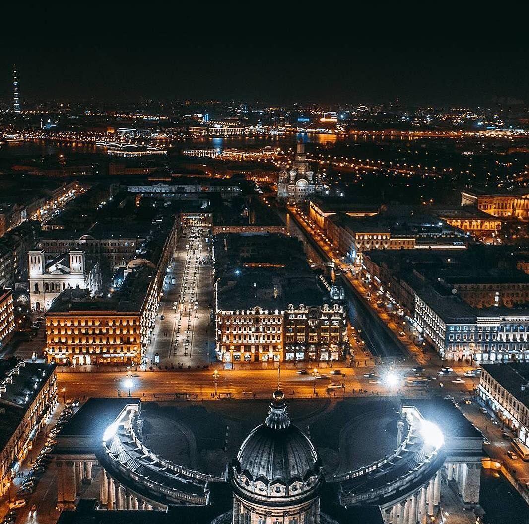 санкт петербург ночью фото серьезным