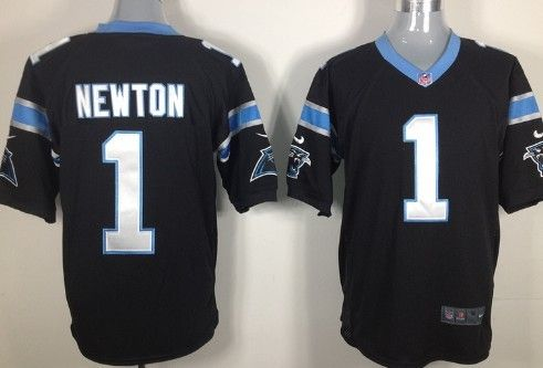 finest selection 31bd3 efc56 Black Cam Newton Jersey, Nike Carolina Panthers #1 Game ...
