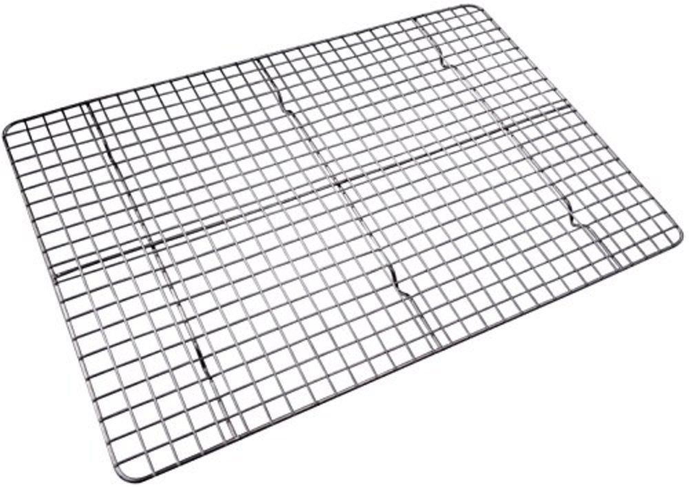 Details About Stainless Steel Cooling Rack Baking Fit Half Sheet
