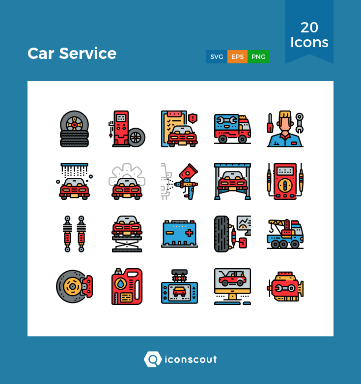 Download Car Service Icon Pack Available In Svg Png Eps Ai Icon Fonts Icon Pack Car Icons Icon