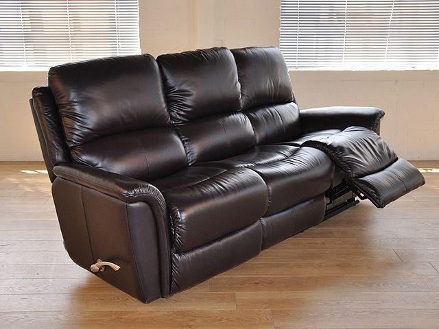 Lazy Boy Recliner Leather Sofa