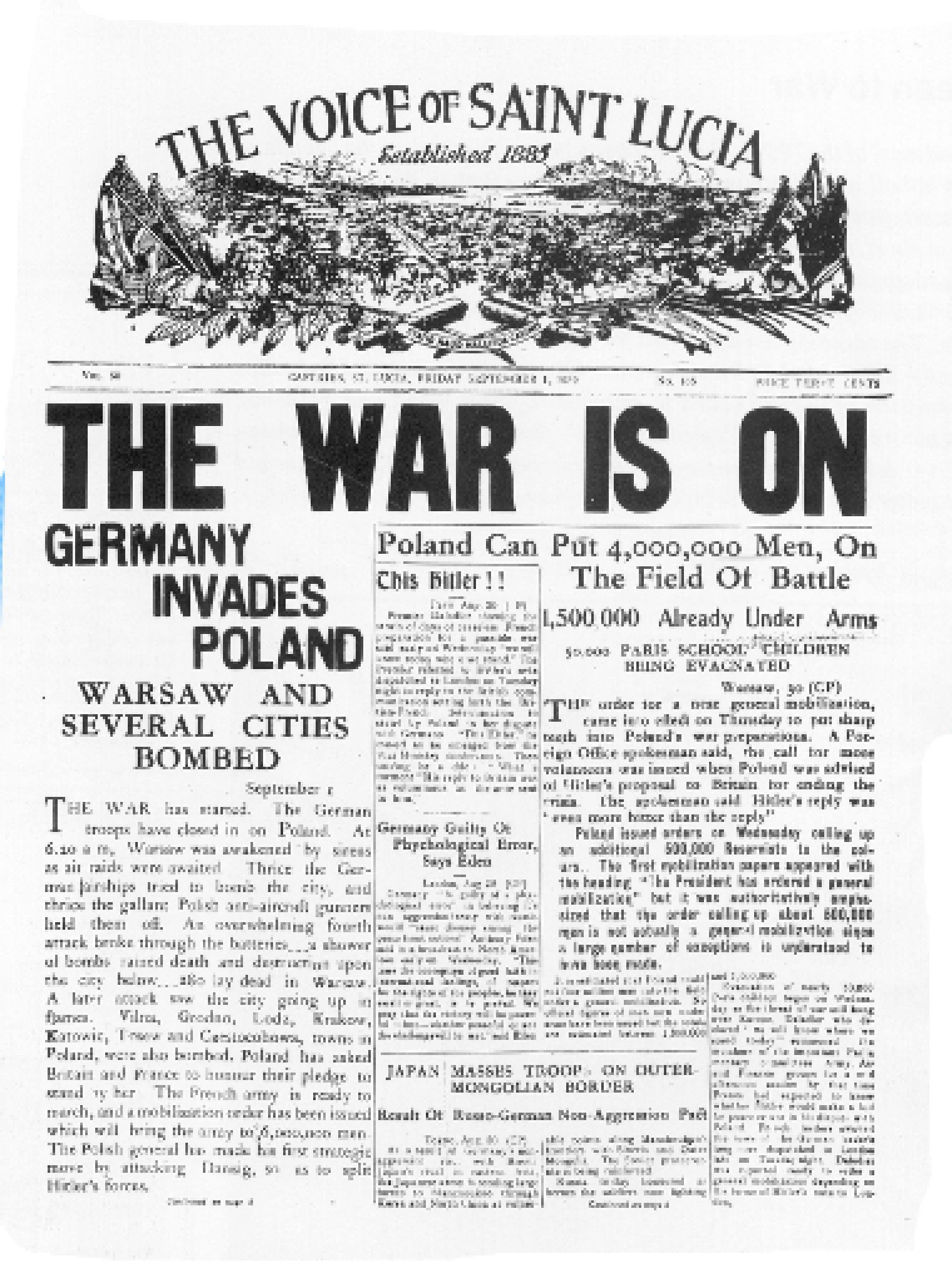 the german invaded poland on 1st september 1939 history essay Learn about this hugely important event in british history in september  to  gain more land and power, on 1 september 1939 german troops invaded poland.