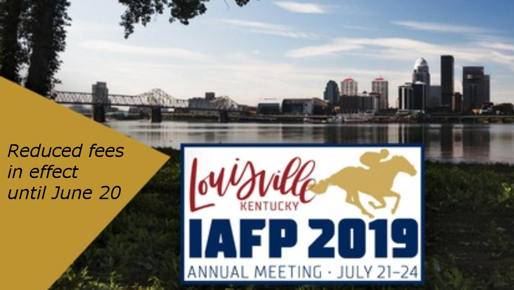 early registration IAFP 2019 | ***BEWARE!!!*** | Food policy