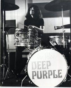 Ian Paice of Deep Purple by Dezo Hoffmann