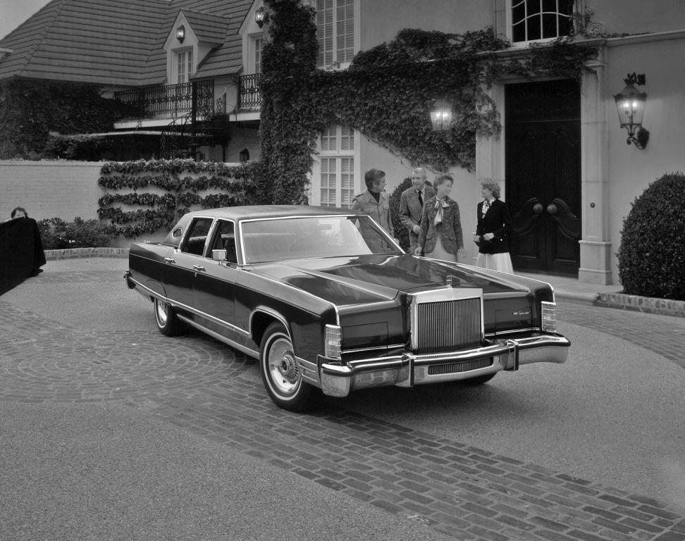 1977 Lincoln Continental Town Car Lincoln Continental Lincoln Car