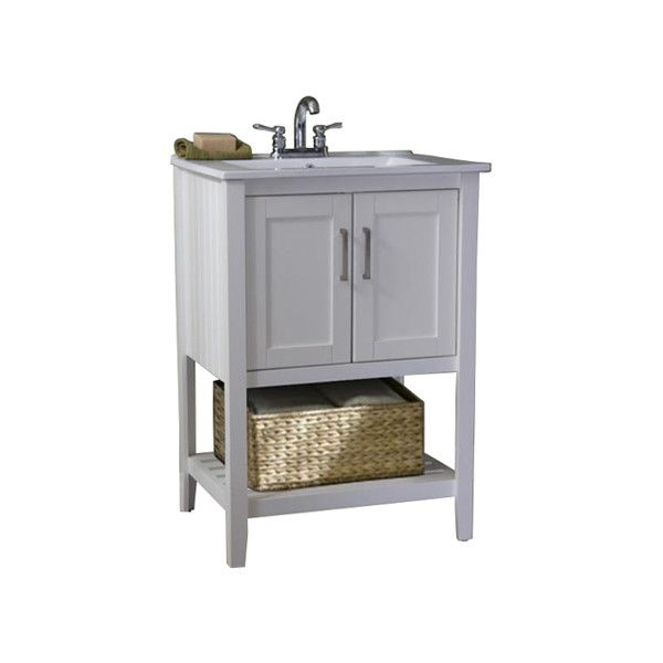 Wayfair For Legion Furniture 24 Single Bathroom Vanity Set With Basket Great Deals On All Home Improvement Products The Best Selection To Choose