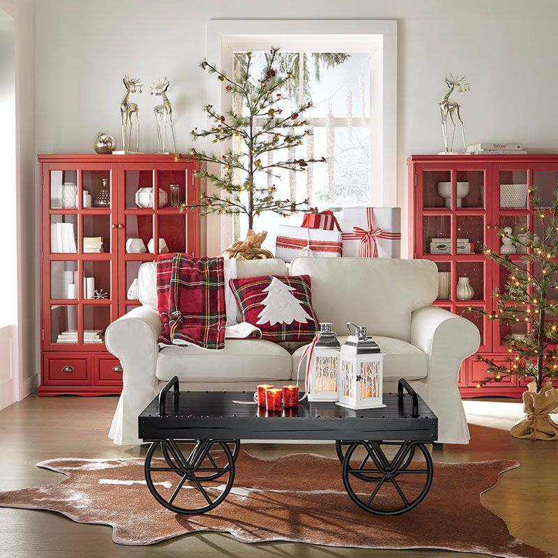Christmas Decoration Ideas for Your Living Room \u2013 Change up a - christmas decorating ideas