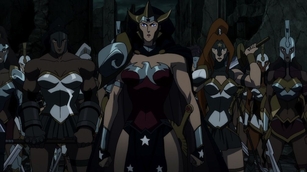 Evil Wonder Woman From Justice League Flashpoint Paradox Flash Point Paradox Justice League Comic Books Art